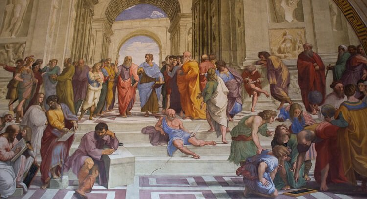 Rome Day Tours - School of Athens