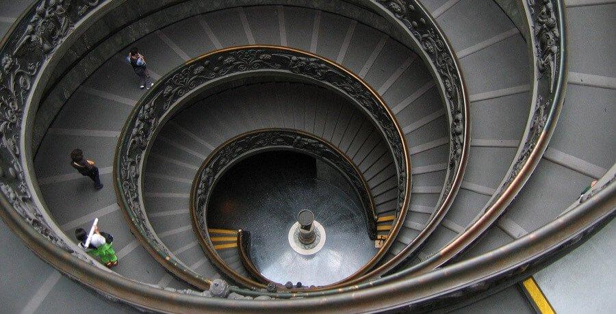 Vatican Tour - staircase