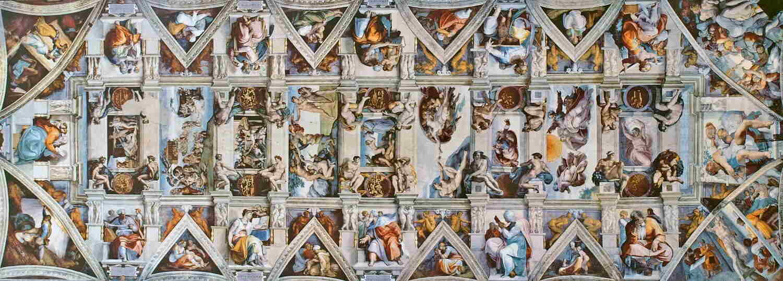 A detailed description of the Sistine Chapel's Ceiling