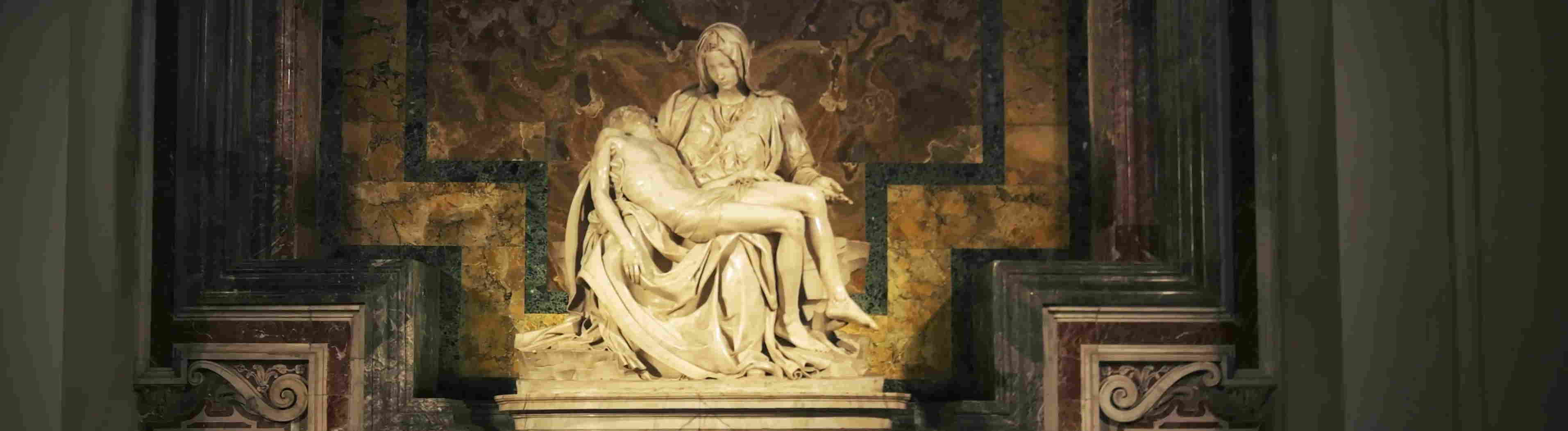 Why are marble sculptures so important in Italy?